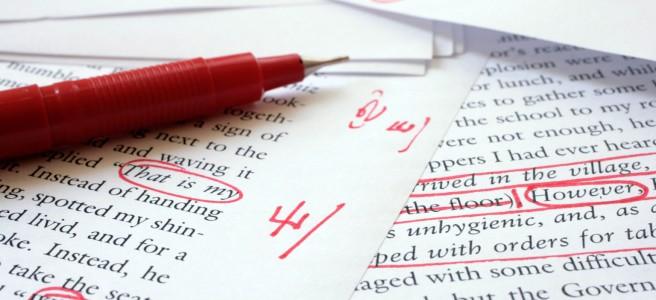 Book editing tips